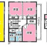 中古住宅! 3階建て 3LDK オール電化住宅!