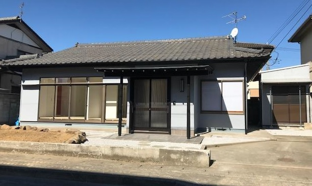 中古戸建 天川大島町3丁目 南道路に面した平屋住宅。