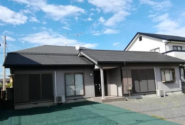 中古戸建 伊勢崎市田中島町 広々した敷地の平屋住宅です。