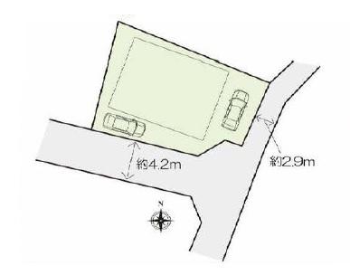 中古戸建 前橋市青柳町 2階に浴室&洗面所のある間取り。