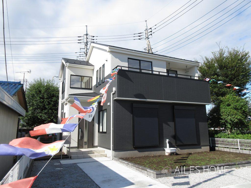 新築戸建 前橋市女屋町 キッチン横に「勝手口」がついてます!